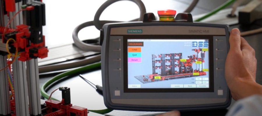 Bild einer Maschine der BSS Materialflussgruppe